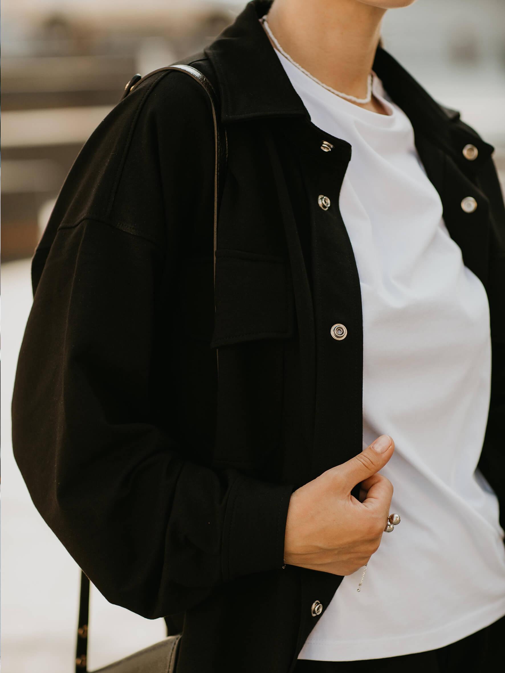 рубашка женская оверсайз